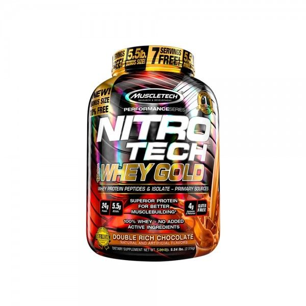NITRO TECH 100% WHEY GOLD PERFORMANCES SERIES 907 g Chocolate duplo