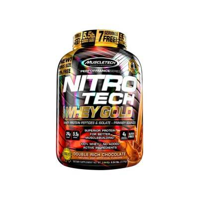 NITRO TECH 100% WHEY GOLD PERFORMANCES SERIES 907 g