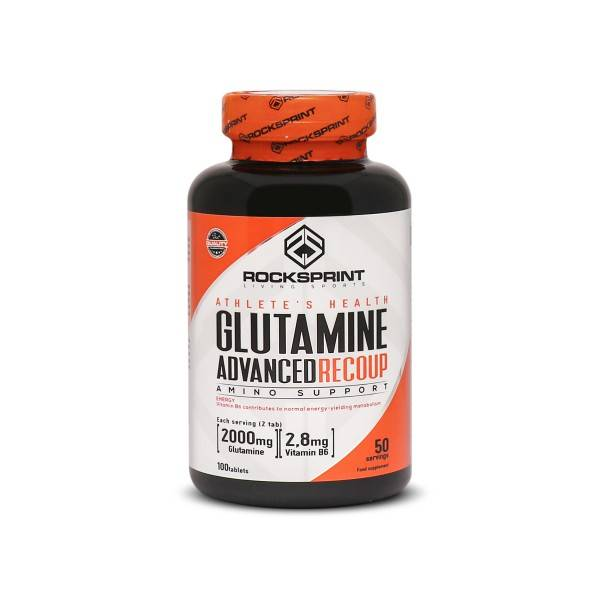 GLUTAMINE ADVANCED RECOUP 100 tablets