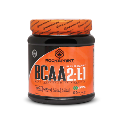 BCAA 2:1:1 PLUS KYOWA GLUTAMINE 200 caps [100 servings]