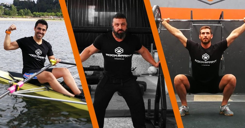 3 Rockprint athletes at POWEREXPO 2018