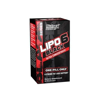 LIPO-6 BLACK Ultra Concentrate 60 capsulas