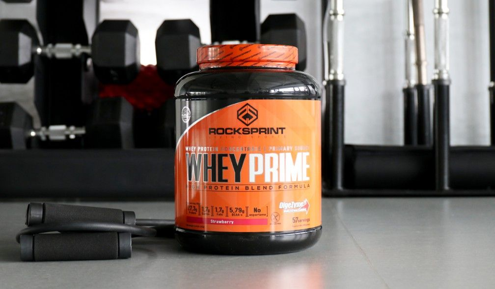 Nourish your muscles with Whey Prime