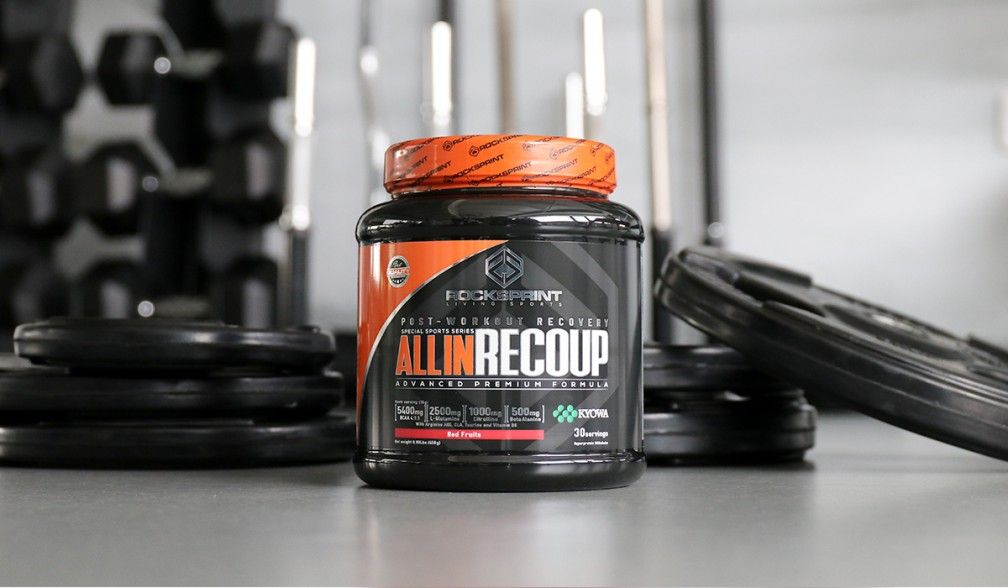 All In Recoup, to recover your muscles!
