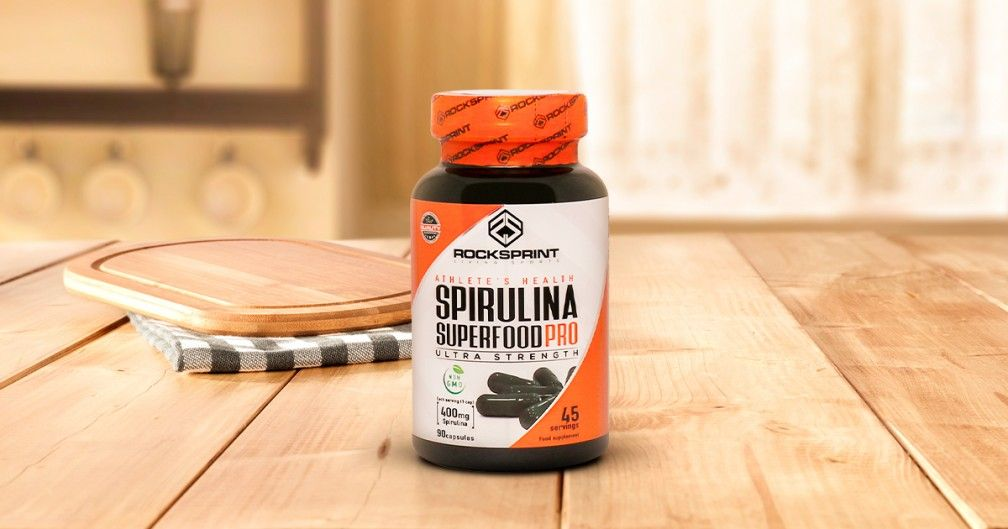Spirulina Superfood Pro, true nutrient explosion!