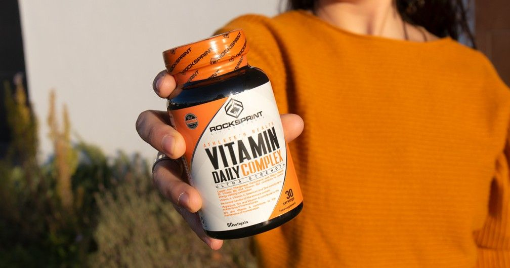 Vitamin Daily Complex: all the vitamins and minerals you need!